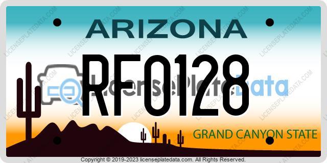RF0128, Arizona