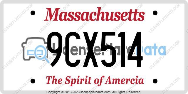 9CX514, Massachusetts
